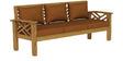 Hamilton Sofa Set in Natural Teak Finish by CasaTeak