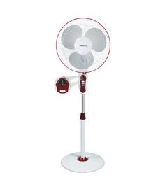 Havells 400Mm Sprint Led Pedestal Wine Red Fan