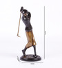 Aglie Golfer Shot Figurine in Multicolor by Amberville