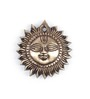 Handecor Brown Brass Smiling Surya Wall Hanging