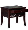 Hardinge End Table in Rose Wood Finish by Amberville