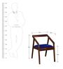 Harrington Arm Chair in Provincial Teak Finish by Woodsworth