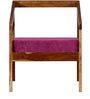 Harrington Single Seater Sofa in Provincial Teak Finish by Woodsworth