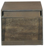 Harvest Night Stand in Brown Colour by @home