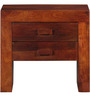Ontario Bedside Table in Honey Oak Finish by Woodsworth