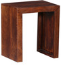 Minerva Mango Wood Set of Tables in Honey Oak Finish by Woodsworth