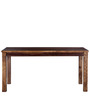 Hays Six Seater Dining Set with Bench in Provincial Teak Finish by Woodsworth
