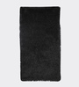 HDP Black Polyester 54 x 30 Inch Hand Made Tufted Shaggy Carpet