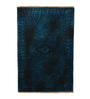 HDP Blue Wool 77 x 54 Inch Indian Hand Knotted Over Dye Carpet