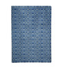 HDP Blue Wool 80 x 56 Inch Indian Hand Tufted Carpet