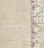 HDP Grey & Ivory Wool 80 x 56 Inch Hand Woven Flat Weave Area Rug