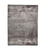 HDP Grey & Silver Viscose 92 x 64 Inch Hand Made Indo Nepal Tibetan Carpet