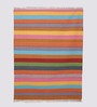 HDP Multicolour Cotton 92 x 64 Inch Hand Woven Flat Weave Area Rug