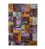 HDP Multicolour Leather 80 x 56 Inch Hand Made Carpet