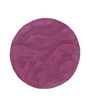 HDP Purple Wool 30 Inch Hand Carved Tufted Round Carpet