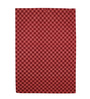 Clarke Area Rug in red and brown by CasaCraft