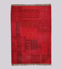 Athena Carpet in Red by CasaCraft