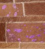 HDP Tan & Purple Leather 92 x 64 Inch Hand Made Carpet