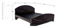 Helix King size Bed in Balck colour by Looking Good Furniture