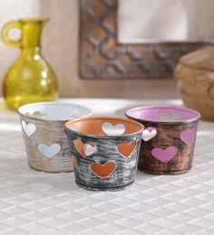 Height Of Designs Heart Candle Votive - Set Of Three