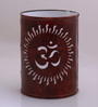 Height of Designs Brown Iron Om Night Light