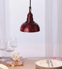 Height of Designs Red 40W LED Pendant Light