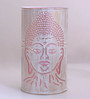 Height Of Designs White and Pink Iron Budha Table Lamp