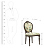Lorraine Dining Chair in Chintz Print by Amberville