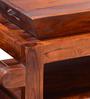 Rochester Bar Trolley in Honey Oak Finish by Woodsworth