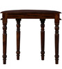 Albans Console Table in Provincial Teak Finish by Amberville