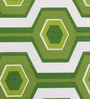 Home Ecstasy Green Cotton Printed Double Bed Sheet with 2 Pillow Covers-Set of 3