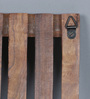 Agustin Contemporary Key Holder in Brown by CasaCraft