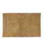 Homefurry Beige Concentrec 20 X 32 Inch Cotton Bath Mat