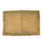 Homefurry Beige Furry Style 20 X 32 Inch Cotton Bath Mat