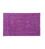 HomeFurry Purple Cotton 32 x 20 Inch Concentrec Door Mat