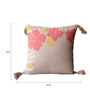 Homeight Pink Cotton 16 x 16 Inch Peony Hysteria Falling Peony Cushion Cover