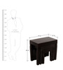 Castleford Set Of Tables in Espresso Walnut Finish by Amberville