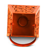 HomeTown Copper Iron Allure Candle Holder
