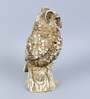 Hosley Beige Resin Owl Cone Incense Holder