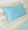 House This Blue 100% Cotton Bed sheet