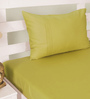 House This Green 100% Cotton Bed sheet