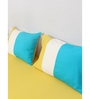 House This Yellow 100% Cotton Queen Size Bedsheet - Set of 3