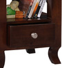 Beaumont Bed Side Table in Provincial Teak Finish by Amberville