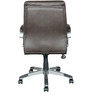 Hugo Medium Back Executive Chair in Brown Colour by HomeTown