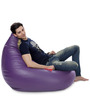 HumBug Bean Bag (Cover Only) XXL size in Purple Colour  by Style Homez