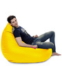 HumBug Bean Bag (Cover Only) XXL size in Yellow Colour  by Style Homez