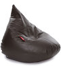 HumBug Bean Bag XL size in Chocolate Brown Colour with Beans by Style Homez