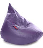 HumBug Bean Bag XL size in Purple Colour with Beans by Style Homez