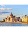 Hashtag Decor Hungarian Parliament Engineered Wood 27 x 20 Inch Framed Art Panel