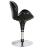 Hydraulic Bar Chair in Black Colour by Penache